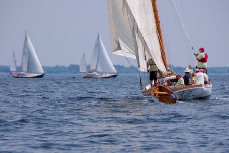 10th Elf Classic Yacht Race in St. Michaels